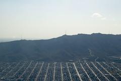 City, Mountain, & Sky