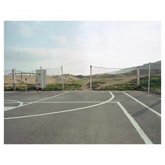 img605_EDIT_INSTABORDER1 (leeburnett_) Tags: morocco mamiya 7aa portra 400 medium format travel landscape broken crack derelict spaces perspective 120 65mm f4 7 africa concrete basketball