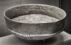 A hanging mirror? (AJ Mitchell) Tags: chasseen neolithic pottery bowl mirror hanging suspended heurault prehistoric