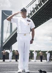 180523-N-OS569-064 (FleetWeekNewYork) Tags: nyfw navy newyorkfleetweek marine marines sailors ship ussarlington lpd24 lpd underway uso newyork ny