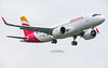 First Airbus A320 Neo Iberia EC-MXU (French_Painter) Tags: first airbus a320 neo iberia ecmxu a320neoiberia