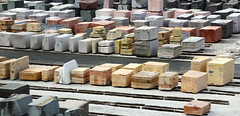 marble slabs (scott1346) Tags: stone marble colors red yellow grey white construction buildingsupplies 1001nights 1001nightsmagiccity canont3i