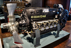 DB605 (Svendborgphoto) Tags: engine wwii bf109 bf110 daimler machinery metal old v12 propeller fuelinjection aircraft deutschland germany german db605 benz kompressor supercharger