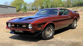1971 Ford Mustang Mach 1 ERL 818K