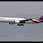 B777-3D7/ER | Thai Airways | HS-TKZ | HKG thumbnail
