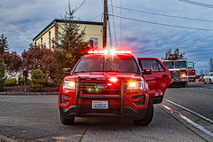 South County Fire Authority AC-16 Ford Police interceptor Utility SUV (andrewkim101) Tags: snohomish county wa washington state south fire district 1 ford police interceptor utility suv