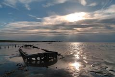 Shipwreck | Wierum (frata60) Tags: nikon tokina d300s 1224mm groothoek wideangle landscape landschap netherlands nederland friesland scheepswrak platbodem boat ship waddenzee wierum nes frata60