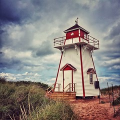 covehead lighthouse (-liyen-) Tags: covehead coveheadlighthouse pei princeedwardisland mobile mobilephone samsung samsungs6 canada summermaritimes atlantic lighthouse clouds matchpointwinner mpt627 challengeyouwinner