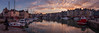 Honfleur (Philippe POUVREAU) Tags: 2018 france harbor harbour normandie calvados port water ship boat sunset vieuxbassin quai honfleur seine français clouds calme calmweather winter hiver canon
