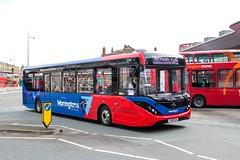 Warrington's Own Buses YX18KUA (Mike McNiven) Tags: warringtonsownbuses networkwarrington warrington interchnage northwich alexanderdennis enviro200 enviro200mmc mmc
