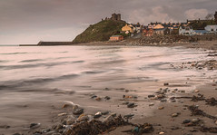 Criccieth (Steve Millward) Tags: nikon nikkor d750 2470 fx fullframe leefilters lee09hardndgrad manfrotto stevemillward perspective composition interesting light texture tone mood moment sunrise dawn spring sky cloud nature landscape seascape scenic beautiful drama dramatic outdoor outside wales northwales cardiganbay gwynedd llynpeninsula holiday vacation beach sea seaside waves tide criccieth cricciethcastle castle