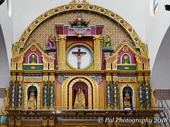 The altar@St.Thomas Catholic Church,Vembar (ppaulvadivu) Tags: paulvadivu india vembar fishing boat canoneos70d canonef2470 gulf mannar seascape lighthouse jetty