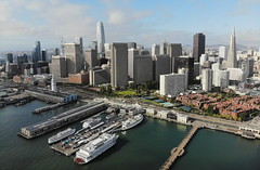 (A Sutanto) Tags: san francisco sf city skyline drone view aerial downtown embarcadero promenade pier pier7 bay