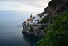 Atrani just near Amalfi (moniq84) Tags: atrani just near amalfi coast costiera amalfitana blue sea green nature church palaces street cars boat sky clouds spring travel italia italy salerno campania world seascape seascapes sigma