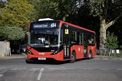 Abellio London Alexander Dennis Enviro200 MMC (8345 - YX66 WFF) 484 (London Bus Breh) Tags: abellio abelliolondon alexander dennis alexanderdennis alexanderdennislimited adl alexanderdennisenviro200mmc enviro200mmc e200mmc e200 mmc 8345 yx66wff 66reg london buses londonbuses bus londonbusesroute484 route484 brockley hillyfields hillyfieldscrescent tfl transportforlondon