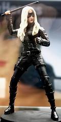 2017-TV's Black Canary Statue at SDCC-01 (David Cummings62) Tags: sandiego ca calif california comiccon con david dave cummings 2017 statue dccomics blackcanary