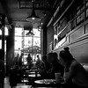 in cafe (Le Xuan-Cung) Tags: incafe earlymorning toronto canada streetphotography bigcity citylife streetlife atmosphere people streetshots streetscene sw bw nb blackandwhite noiretblanc livingintoronto livingincanada