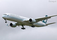 F-WZGV Airbus A350-1000 Cathay Pacific (@Eurospot) Tags: fwzgv blxa airbus a350 a3501000 toulouse blagnac cathaypacific