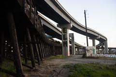 Rokkor35mm28_A7_AbandonedFreeway (65) (bad.moon) Tags: freeway minolta oakland rokkorx35mmf28 sonya7 traintracks urbanabandoned urbandecay