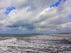 Double Souls (aeeshahraha) Tags: sea sky waves clouds fortedeimarmi versilia toscana