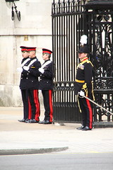 Household guards in Whitehall (Ian Press Photography) Tags: guard guards soldier army military london england tourist tourism uk british soldiers whitehall footguards foot ceremony ceremonial guardsman guardsmen infantry regiment regiments grenadier