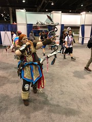 Awesome Aloy Cosplay (blueZhift) Tags: animecentral2018 acen 2018 cosplay anime manga comics videogames costume cartoons scifi fantasy aloy horizonzerodawn