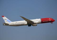 G-CKMU Boeing 787-9 Norwegian Air UK (Keith B Pics) Tags: lgw gatwick keithbpics boeing dreamliner b787 gckmu baberuth nax norwegian
