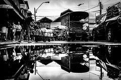 Bangkok (tomabenz) Tags: noiretblanc asia reflection bw urban bangkok monochrome noir et blanc bnw human geometry urbanexplorer zeiss streetview black white sony a7rm2 street photography people blackandwhite humaningeometry sonya7rm2 streetphotography