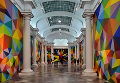 Art Exhibition Hall (gerard eder) Tags: world travel reise viajes europa europe españa valencia museum museo exhibition exhibits exposition exponate ausstellung interior art arte kunst city ciudades urbanlife urban architecture architektur arquitectura