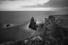Cabo Rojo Coast (GOJR.) Tags: leebigstopper nikkor20mmf35ais farolosmurillos puertorico analog film seascape longexposure caborojo ilfordpanf nikonf2
