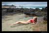 Anastasia (madmarv00) Tags: anastasia d600 makapuu nikon sandybeach beach girl hawaii kylenishiokacom model oahu ponytail woman bikini water rocks ocean sand layingdown relaxed