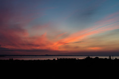 Sunrise 4.25am 21st May 2018  (10 of 9) (Philip Gillespie) Tags: edinburgh sunrise scotland sun sky clouds sea forth canon 5dsr nature morning water landscape seascape pink orange blue hour peach peaceful peace tranquility