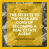 The Secrets To The Pros and Cons of Becoming a Real Estate Agent (beingarealtor) Tags: prosandconsofrealestate realestateagent isrealestateagoodcareer realtor newagent tips tricks realestatetraining bryancasella doorknocking coldcalling highpayingcareers highpayingjobs pros cons realestate agent career realestatelicense realestateagentcareer beingarealestateagent realestatebusiness briancassella advice inspiration howtogetintorealestate prosandconsofbeingarealestateagent