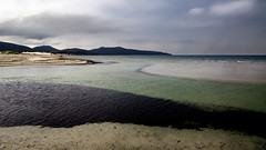 Porto Pino (nicolamarongiu) Tags: color landscapes paesaggio sea mare portopino sardegna italy curve minimal dune