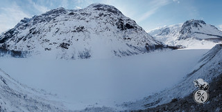 Frozen Bear Glacier panorama
