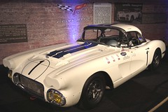 """Corvette C1 """"Cunningham"""" (Joël ANGOT) Tags: autos voiture lemansclassic pentax k3 pentaxk3 lemans 24heuresdumans auto cars aco race racecar courseautomobile course circuitbugatti chevrolet chevroletcorvette corvettec1cunningham"""