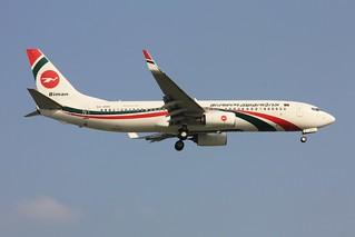 737-800  S2-AHV