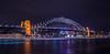 Luna Park under a bridge (Scottmh) Tags: 2018 sydney australia autumn bridge d7100 exposure harbour lights long luna new nikon park south trails wales water