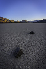 Follow the Leader (ihikesandiego) Tags: death valley racetrack playa wandering rocks national park
