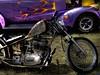 Paint & No Paint (Tim @ Photovisions) Tags: car bike auto flames rust custom carshow kansas cycle yamaha wheel
