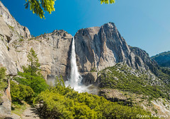 (Steven Barrows) Tags: yosemite yosemitenationalpark yosemitevalley upperyosemitefalls upperyosemitefallstrail nationalpark usnationalpark waterfall hiking backpacking scenic landscape