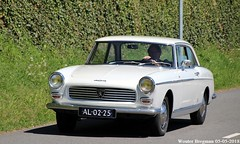 Peugeot 404 Coupé 1964 (XBXG) Tags: al0225 peugeot 404 coupé 1964 peugeot404 coupe pininfarina pinin farina white blanc citromobile 2018 citro mobile expo haarlemmermeer stelling vijfhuizen carshow vintage old classic french car auto automobile voiture ancienne française vehicle outdoor