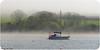 Out of the mist (Lady Ann 2010) Tags: ©ladyann2018 canonixus500hs canon stdogmaels sailingboat river afonteifi wales uk