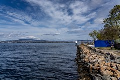 Nesoddtangen Norway (Einar Schioth) Tags: nesoddtangen water sky summer sunshine sea sun shore sigma sigma2470 day canon clouds cloud coast vividstriking nationalgeographic ngc norway nature norge rocks rock stone stones lake landscape photo picture outdoor einarschioth