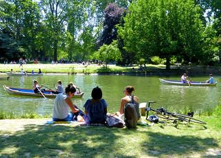 Pause au lac Daumesnil