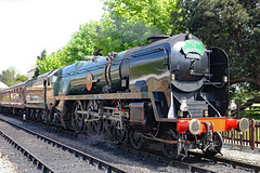 35006 'Peninsular & Oriental S. N. Co.' - SR Merchant Navy Class (Malcolm Bott) Tags: gloucestershire england britishisles 35006 railway transport unitedkingdom