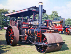 Aveling & Porter Steam Roller Border Queen (SR Photos Torksey) Tags: aveling porter steam road roller engine transport traction rally show vintage classic border queen