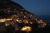 Positano by night (moniq84) Tags: positano by night amalfi coast costiera amalfitana campania italia italy south lights view sea seascapes landscapes palaces church blue sky lamps nikon sigma nightphotography