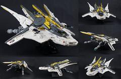 Mercury class interceptor - multi shot (Brick Martil) Tags: toy lego mercury interceptor spaceship spacecraft starfighter futuristic dynamic gaia empire
