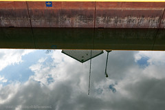2018-04-28 15-23-25 (_MG_3110) (mikeconley) Tags: johnstown newyork eriecanal lock canal water reflection mindenville usa